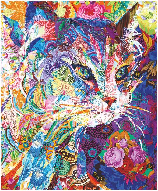 """This quilt is titled """"Ready"""" by Danny Amazonas and will be part of new quartet of exhibits opening this spring at the Texas Quilt Museum in La Grange."""