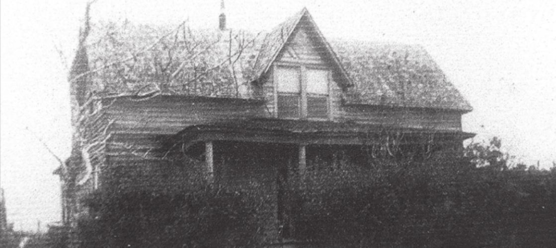 For generations, rural families placed orders for items not readily available locally. Cordell's father, Alfred, was one of them. In 1916, he ordered a new home from Sears, Roebuck. The unassembled kit with instructions and materials arrived on a freight train at nearby Carmine. Alfred built his new home on one acre in the A.E. Baker League, across the road from the 96.5 acres in the James Winn League, where Cordell lives now. It was once the home of his Levien grandparents. The photo of the Levien's Sears, Roebuck house dates to the early 1930s.